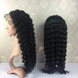 100% Virgin Human Hair Lace Frontal Wig
